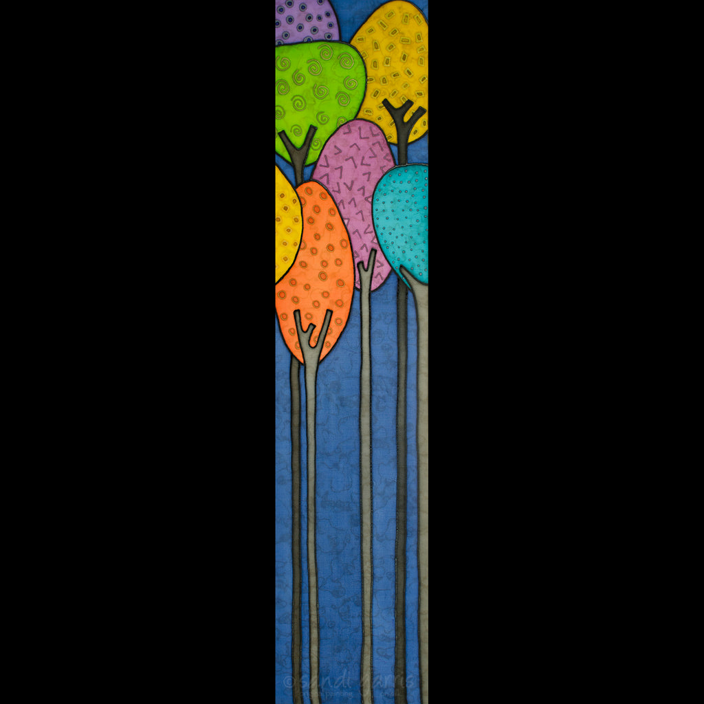 Forest in Colorville ll ~ Blue 10 X 32