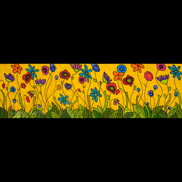 Spring Party  14 X 36
