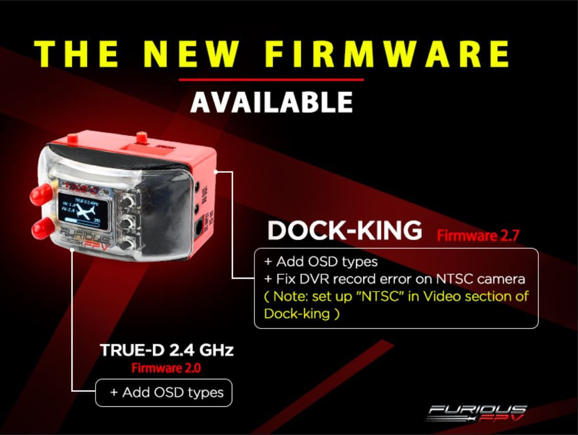 New Dock-King Firmware released 2019