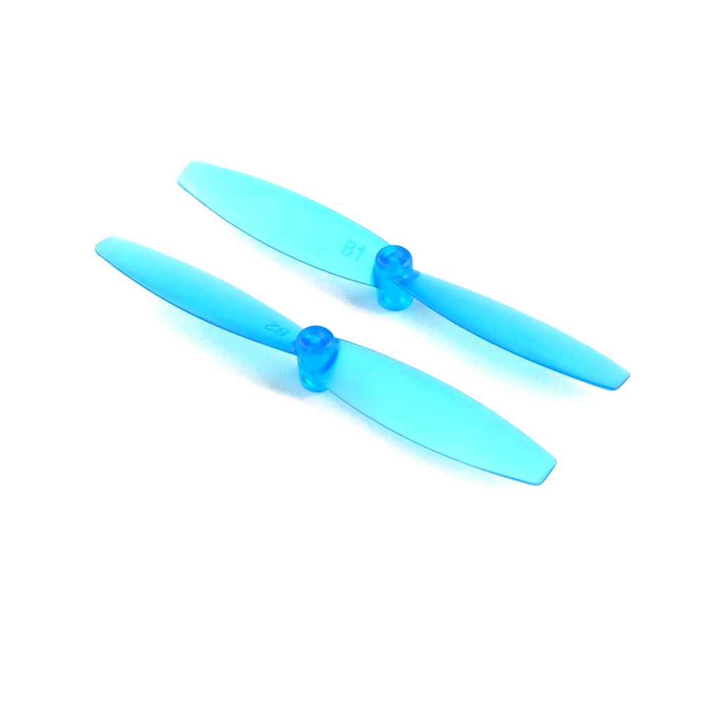 HappyModel Sailfly-X 65mm Bi-Blade Micro Prop 12 Pack (1.5mm Shaft) - Choose Your Color