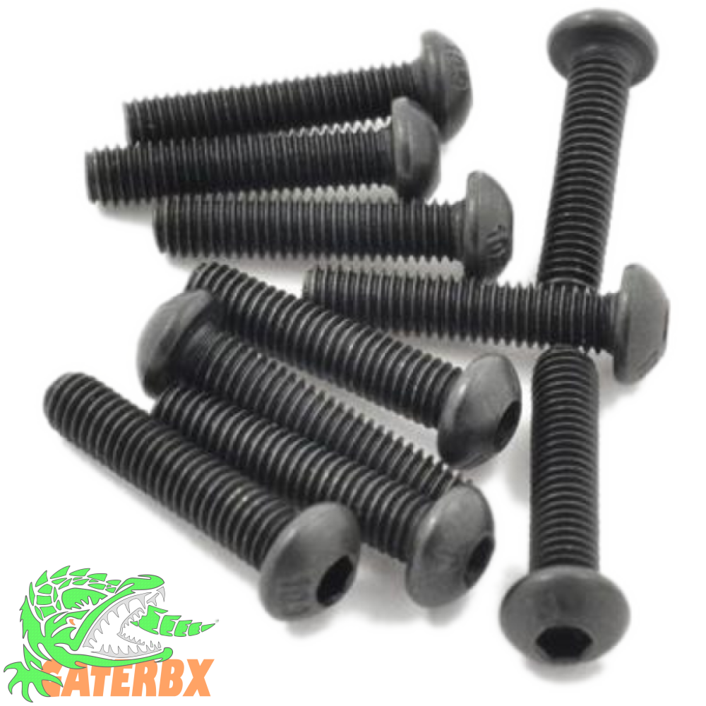 10Pc M3 Bolts Or Steel Screws - Various Sizes 5/7/9/12/14/16/19Mm Hardware