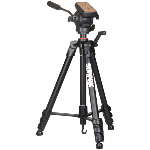 Sunpak 620-840 Video Pro-M 4 Tripod With Fluid Head Photo