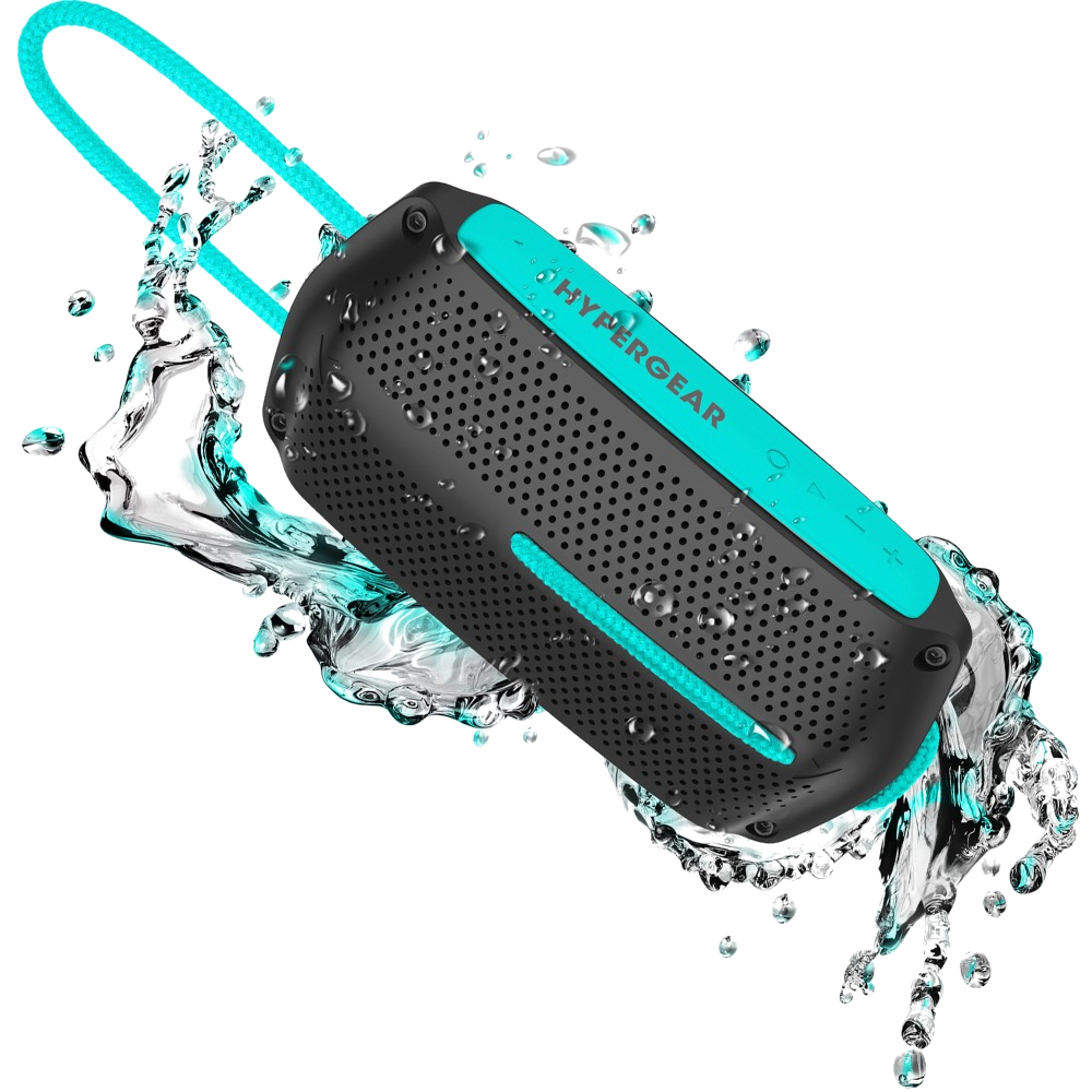 HyperGear Wave Water Resistant Wireless Speaker -Choose your color