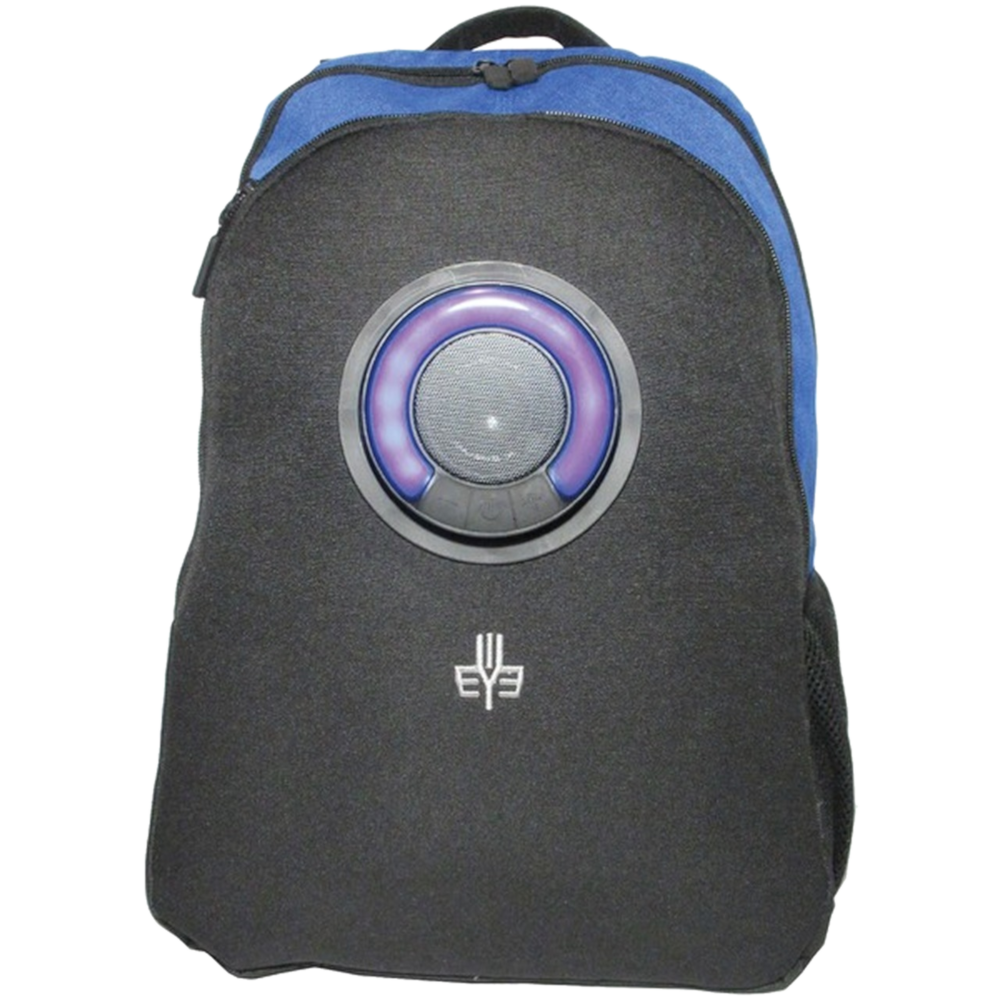 3 EYE Bluetooth speaker Backpack color changing LED