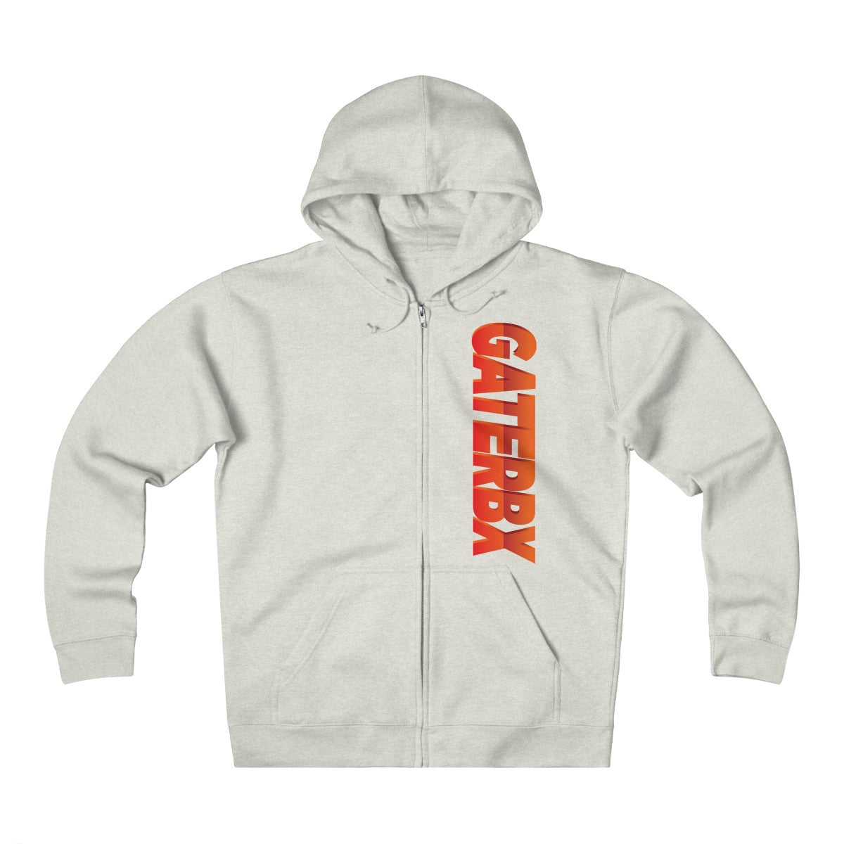Unisex Heavyweight Fleece Zip Hoodie