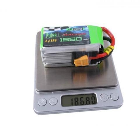 Pulse 1550 Mah 4S 15.2V 100C - Hv Lipo W/ Removable Balance Wires Battery