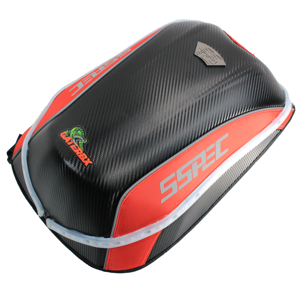 Gaterbx RGB LED Lights Sequential scooter hard shell backpack