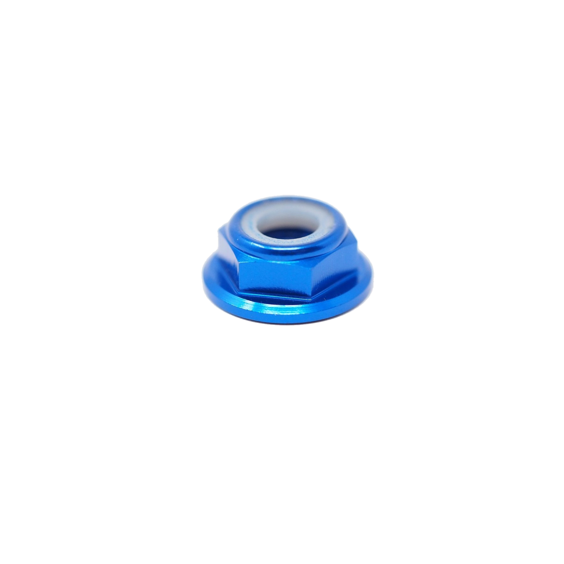 DEEZ NUTS M5 Aluminum Low profile nylon lock nut props