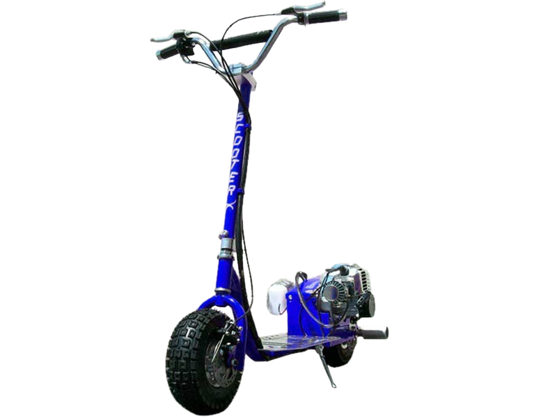 Scooterx Dirt Dog 49Cc Blue Scooter