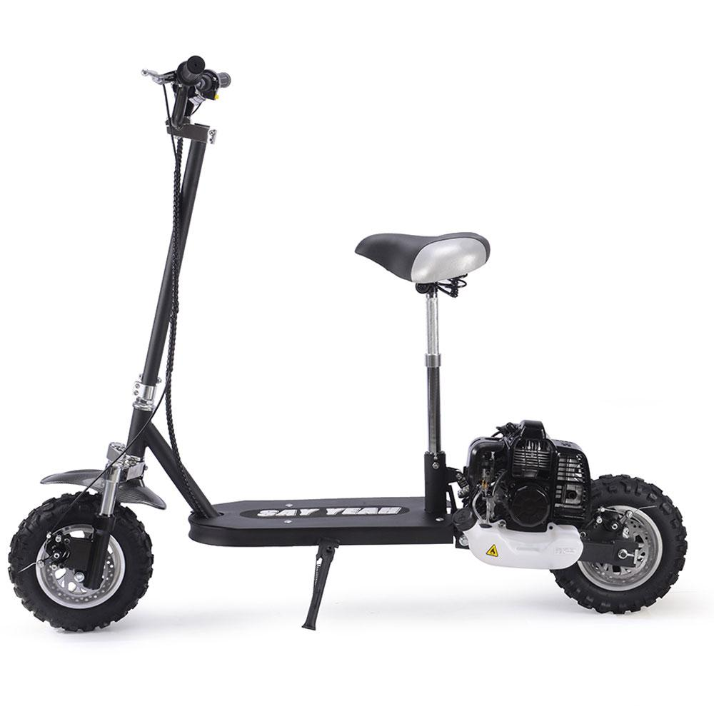 Say Yeah 49Cc Gas Scooter Black Scooter