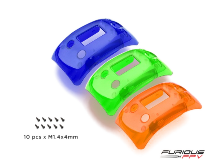 Furiousfpv Trued X Cover Bundle -Choose Your Colors Blue | Orange Green Fpv