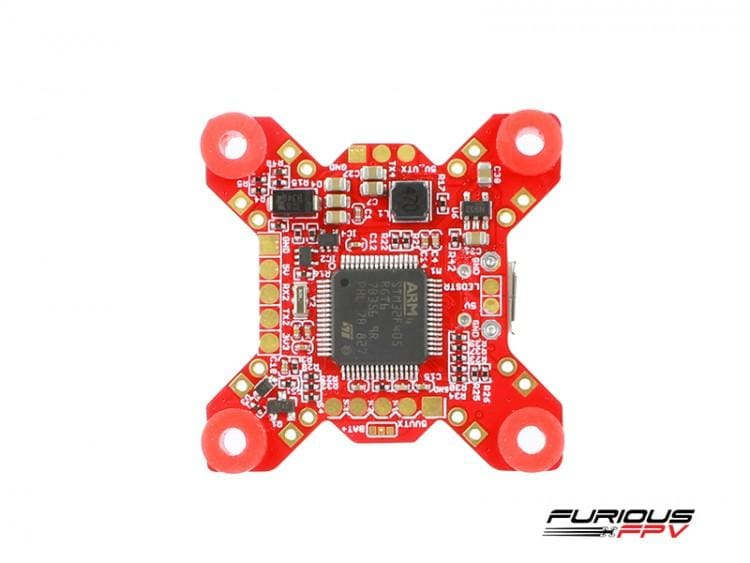 Furiousfpv - Fortini F4 Osd 32Khz Flight Controller Rev.3 Drone Electronics
