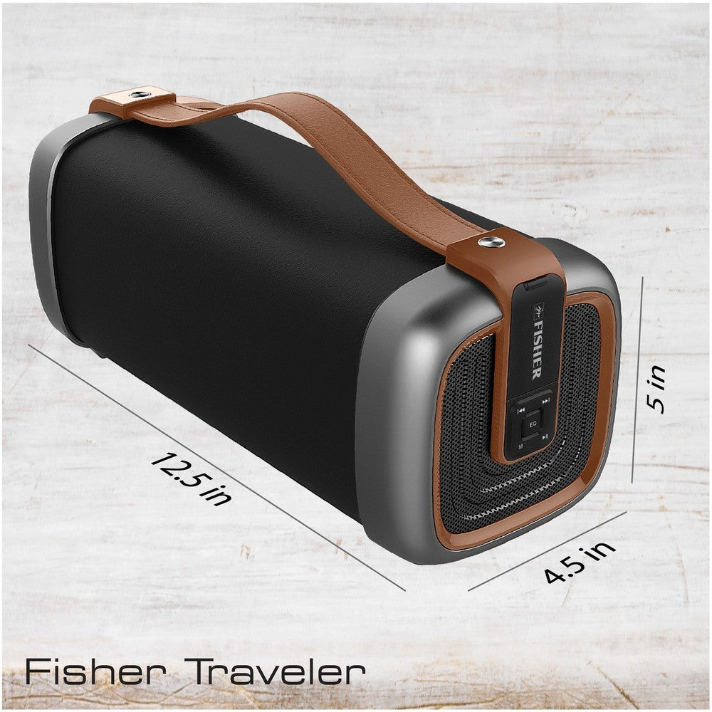Fisher® FBX395 TRAVELER SOUND Bluetooth® Speaker -Choose your color