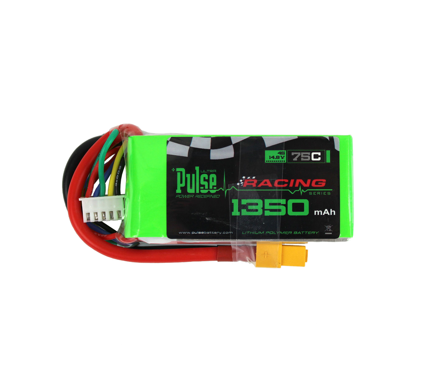 Pulse Neo 1350Mah 4S 14.8V 100C - Fpv Racing / Extreme Series Lipo Battery Battery