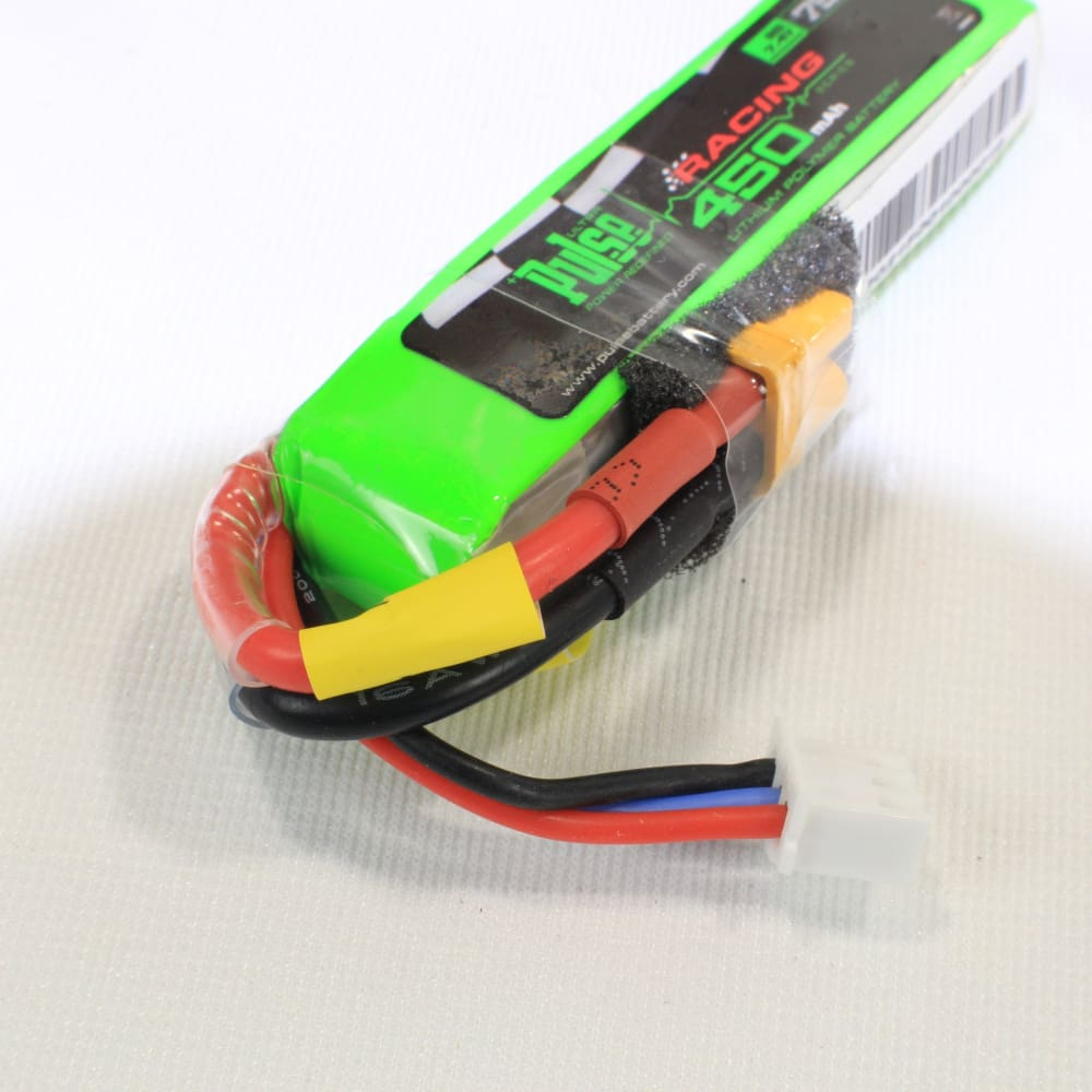 Pulse 450 Mah 2S 7.4V 75C - Fpv Racing Series For Betafpv 75X Battery