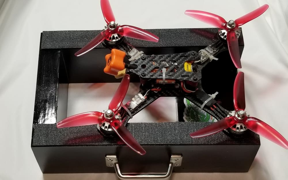 Quad Drone Racing Launch Block Or Pad Outdoor