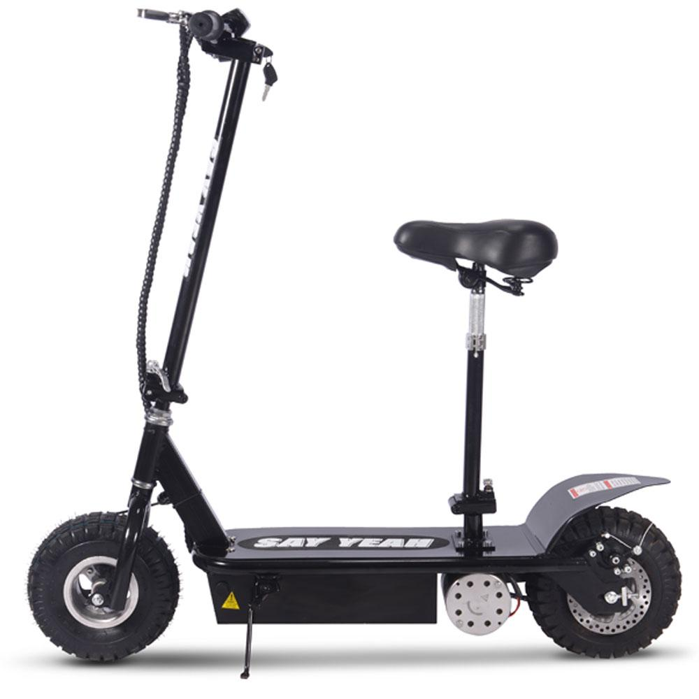 Say Yeah 800W 36V Electric Scooter Black Scooter