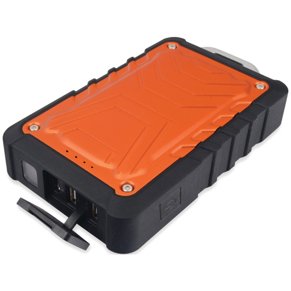 ToughTested 8,000mAh Rugged Power Bank with Dual USB Ports