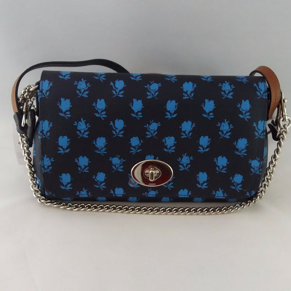 Coach Badlands Floral Mini Ruby Crossbody Handbag in Midnight Multi F38162