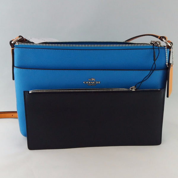 COACH F38122 SVEWK CLRBLK EW POP CROSSBODY