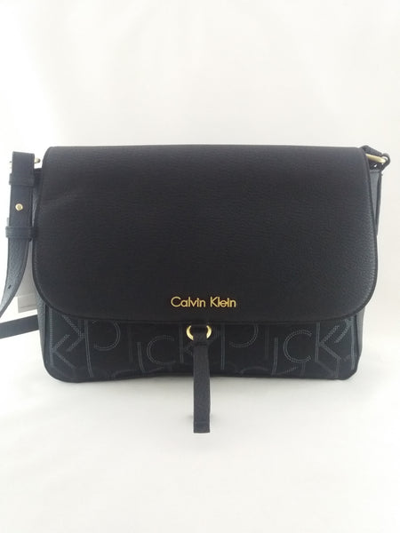 CALVIN KLEIN ADDIE LOGO CITY CROSSBODY BAG