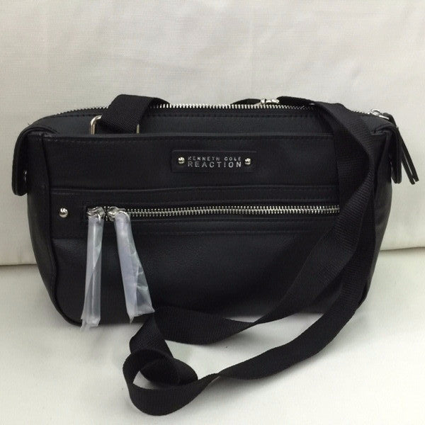 KENNETH COLE REACTION CROSSBODY BAG BLACK