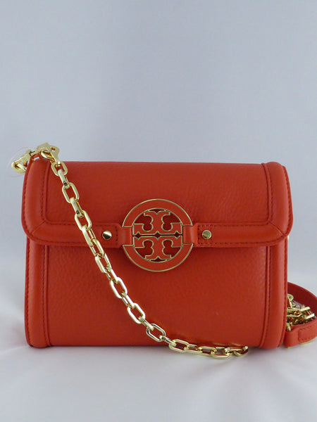 TORY BURCH MESSENGER & CROSSBODY BAG 18169266 BLOOD ORANGE 815
