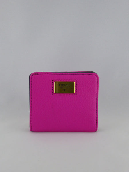 FOSSIL QUINN BIFOLD HOT PINK SWL1177694