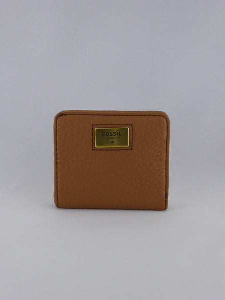FOSSIL QUINN BIFOLD WALLET SADDLE SWL1177216