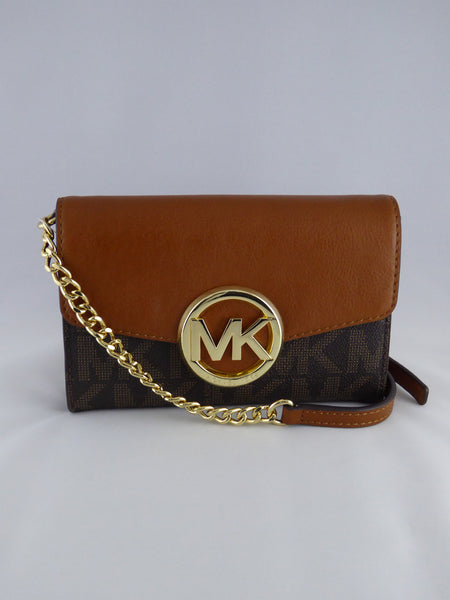 0da3527a58fb8b MICHAEL KORS HUDSON 35S5GHC9B LG PHONE CROSSBODY BROWN –  www.AuthenticBags.Com.Ph