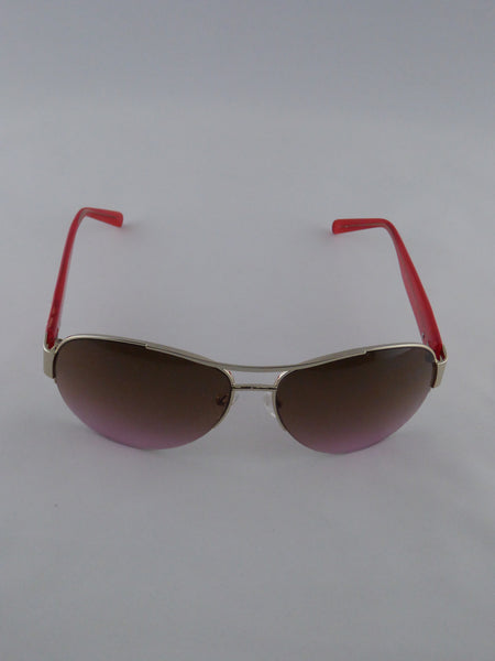 GUESS SUNGLASSES GUF 215 GLD-52 PINK FUSCHIA PLUM GRADIENT