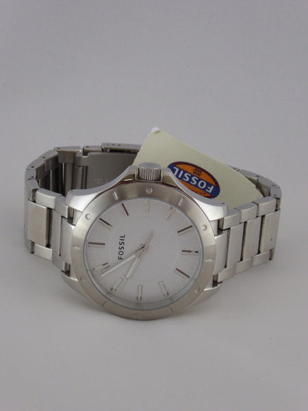 FOSSIL STAINLESS MEN'S WATCH BQ1300 NWT (MD)