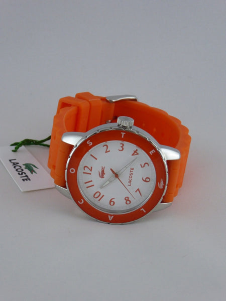 LACOSTE LADIES WATCH  2000747  RIO SILICONE ORANGE