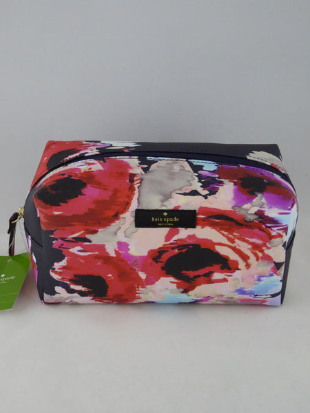 sneakers for cheap db7d9 ce577 KATE SPADE MEDIUM DAVIE COSMETIC BAG LAUREL WAY PRINTED