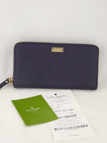 Kate Spade Neda Laurel Way Leather Zip Around Wallet WLRU2669