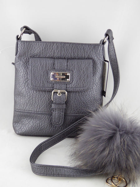 Nine West Rocky Crossbody Bag Hematite