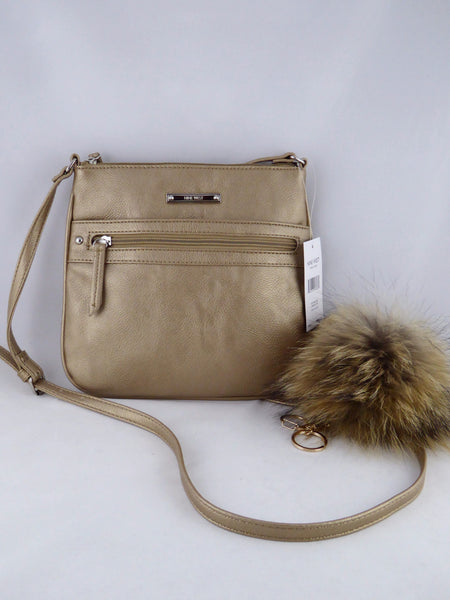 Nine West Rocky Crossbody Bag Light Bronze