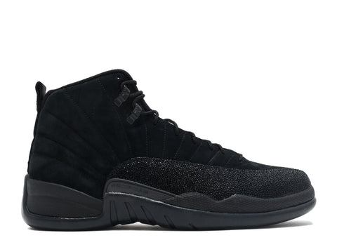 "AIR JORDAN 12 RETRO OVO ""OVO"" Black"