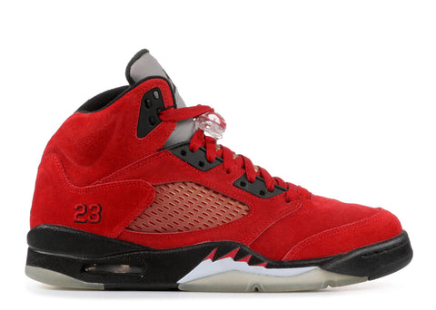 "AIR JORDAN 5 RETRO ""RAGING BULL RED SUEDE"""