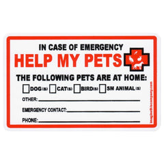 Pet Rescue Wallet Cards