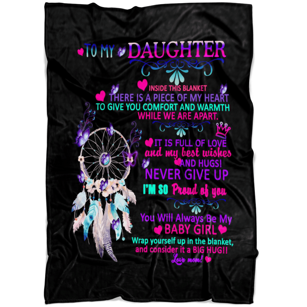 """TO MY DAUGHTER YOU WILL ALWAYS BE MY BABY GIRL""."