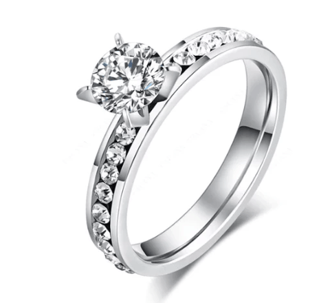 Queen's Stainless Steel Ring For Women, Fashion Jewelry, Exclusive Price Flat shipping.