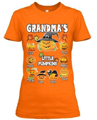 Grandma's/ Grandpa's Little Pumpkins Halloween Special (Flat 70% off) Exclusive Orange Shade Available.