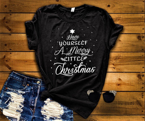 """Have Yourself A Merry Little Christmas""(50% Off Today) Flat Shipping (Christmas Special)"
