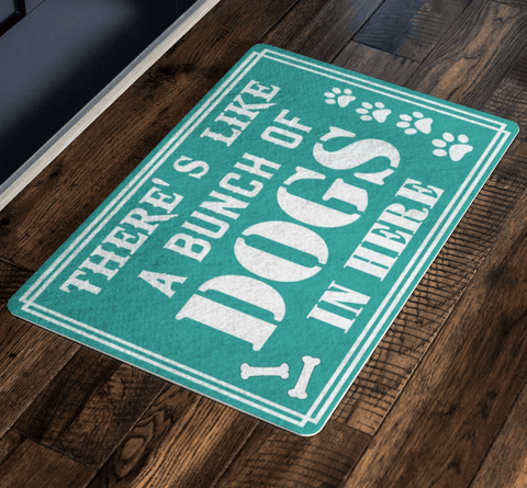 Dog Lover Special Welcoming Doormat For homes Exclusive ( Best price Deal)