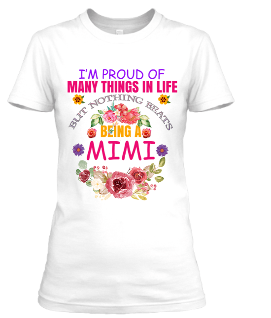 """BEING A MIMI"" T-SHIRT"
