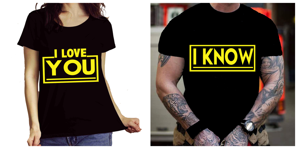 """LOVE COMBO PACK... ""SPECIAL FOR COUPLE( SHIRT 50% OFF) FLAT SHIPPING"
