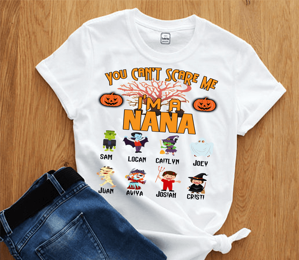 """You Can't Scare Me I'm A Nana"" Halloween Special (Flat 70% off)"