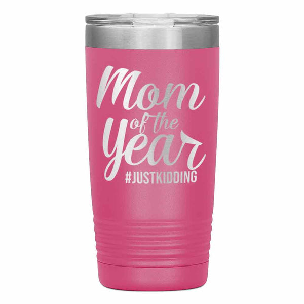 """Mom of the Year...""Tumbler. Personalize Your Nickname Mimi, Gigi, Grandma or Write Your Nick Name Below."
