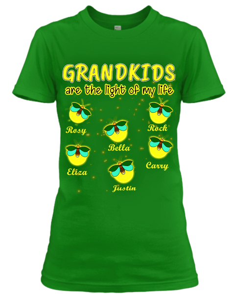 """GRANDKIDS ARE THE LIGHT OF MY LIFE"""